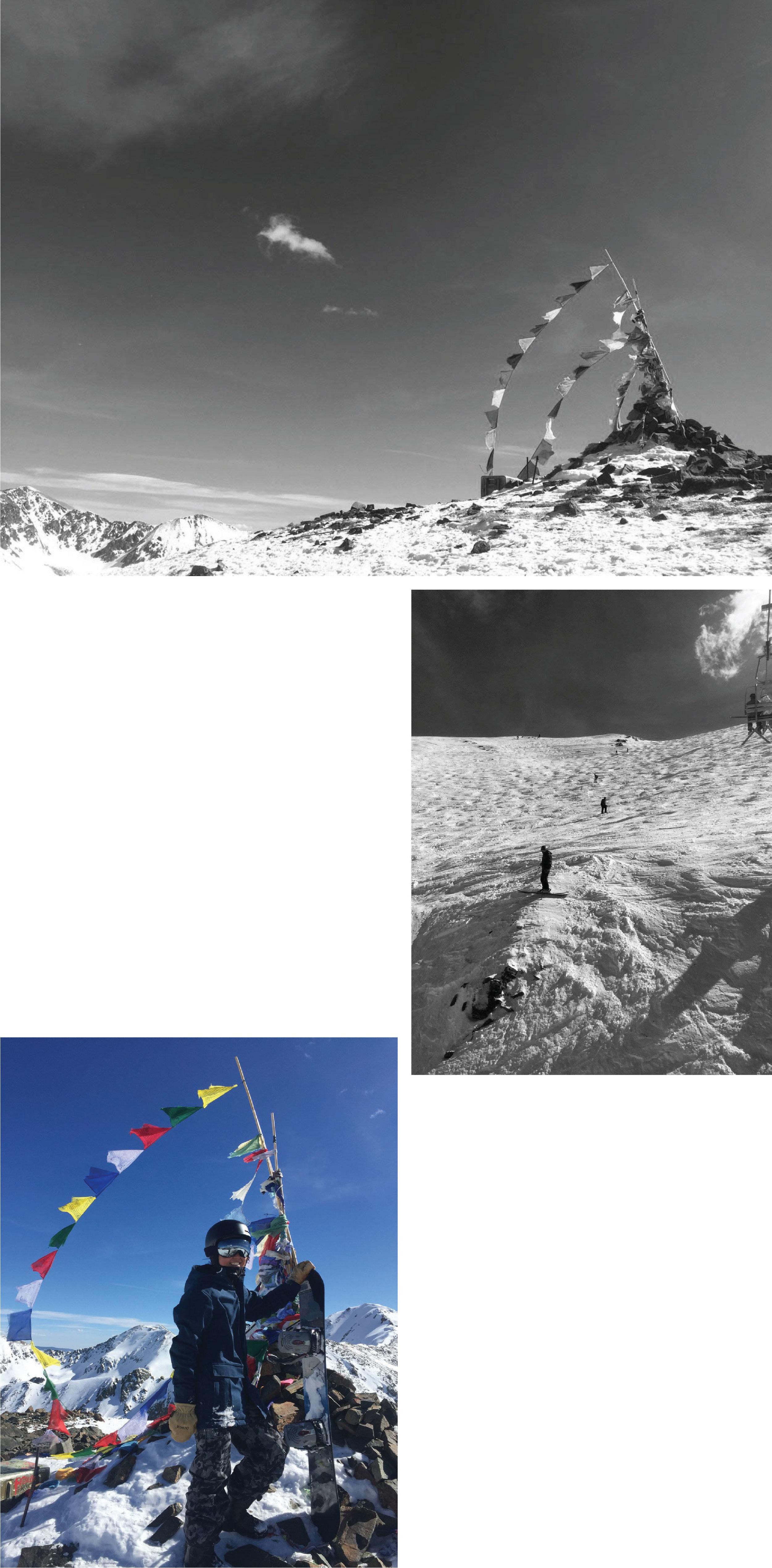 Taos ski resort at New Mexico