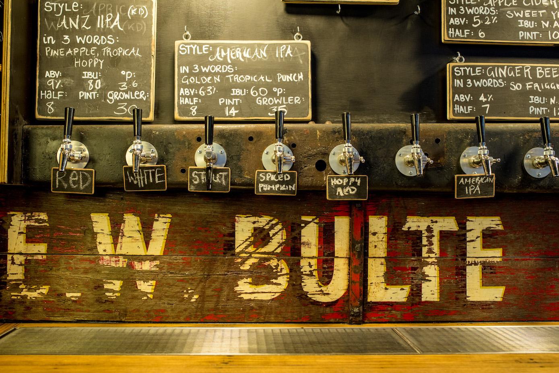 Truck Bar Beer Taps