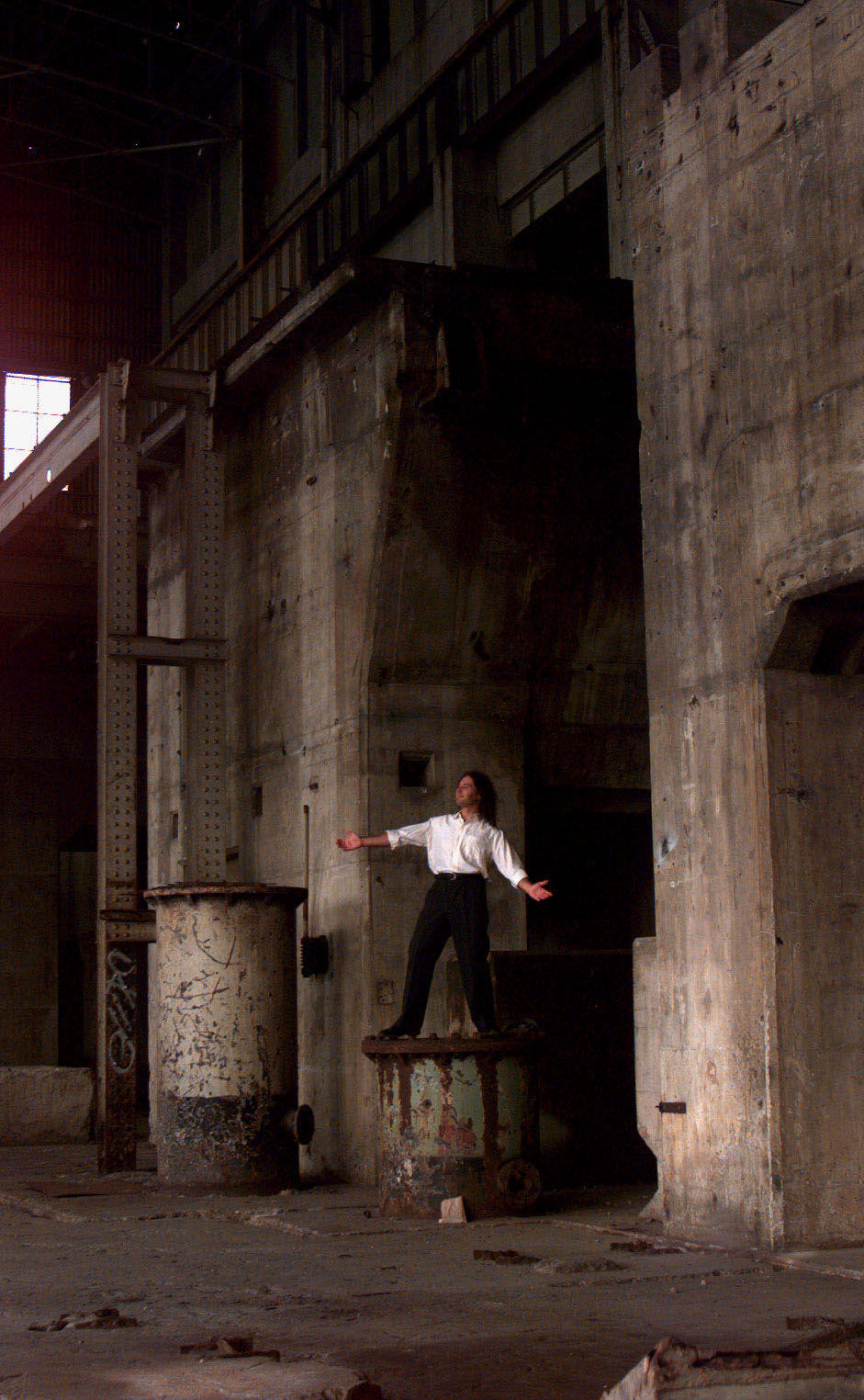Late last Millenia the abandoned Rozelle power station was used as a secret performance space for young soprano Mark Da Silva.