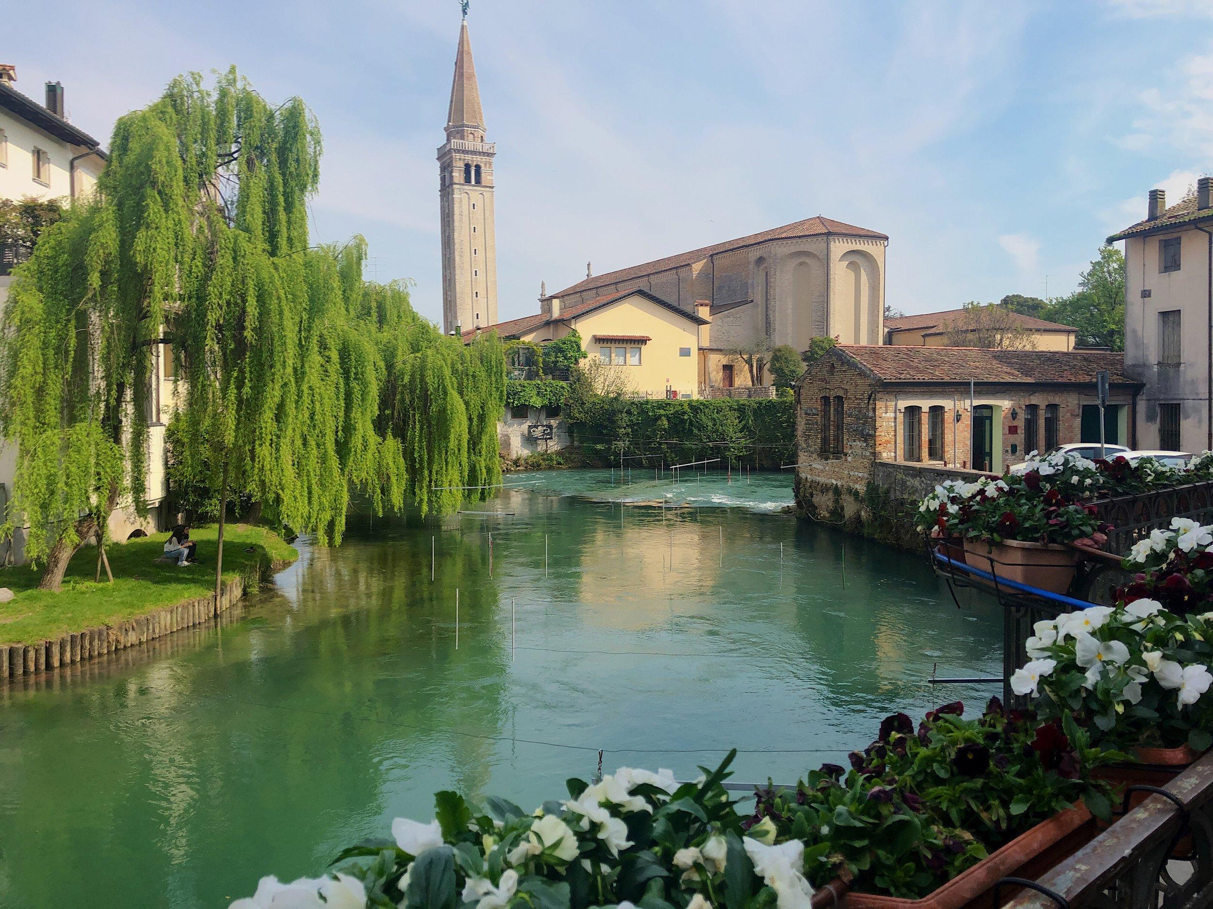 ▲ 美麗靜謐的 Sacile 小鎮