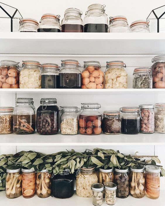 Food in jars is sexy, right? - If your pantry looked like this, would you cook more?