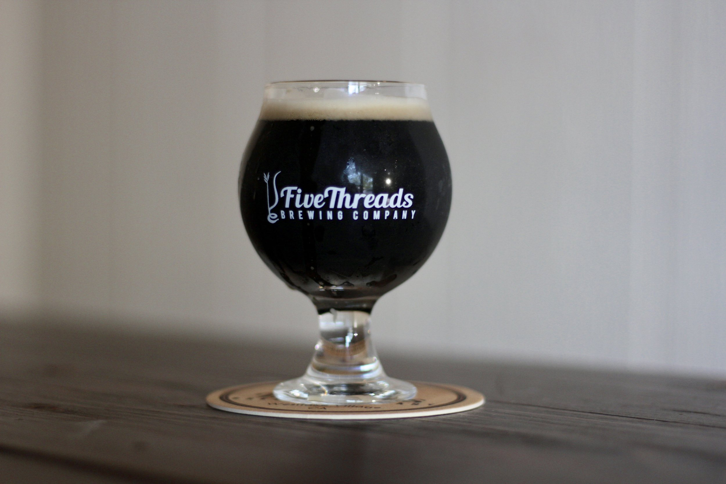 off kilter | wee heavy (scottish barleywine)  40 IBU, 10.0% ABV  This is a large beer, with malt & Carmel flavors and a bonus touch of dried fruit. Crazy!
