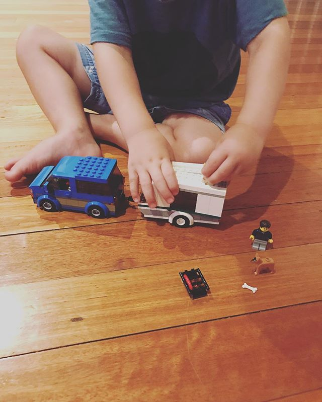 First real lego 🏆. He did about 50 percent of it with spoken instructions and really focusing on slowing down and doing it together. I am so proud he didn't get frustrated and peg it across the room like most toys ☄️. I think we have a winner!!! #lego #legoforlife #allthelego #takingafterhiscousins #holidays #mindful #mindfulness