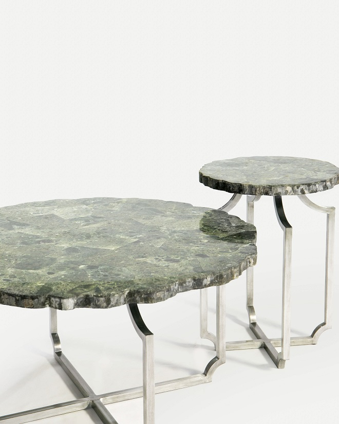 Co-Creative Studio, Detalia Aurora,Quarrie Tables, Green Wax Stone Lamination B.jpg