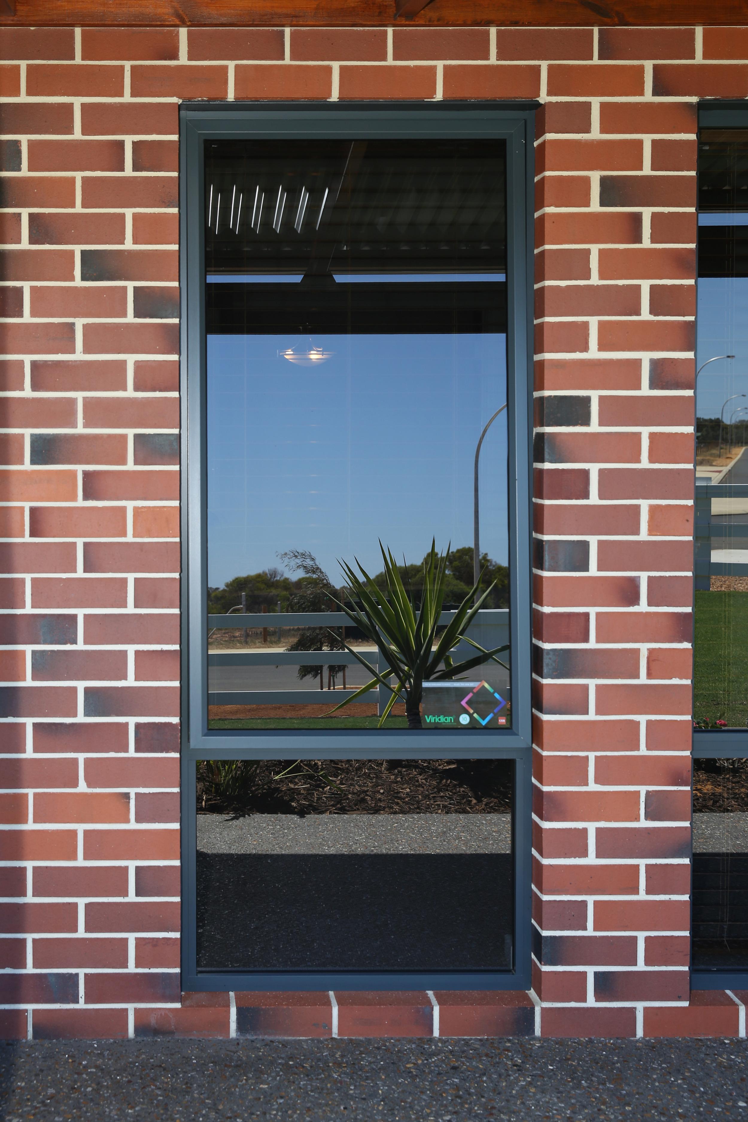 Awning window brick