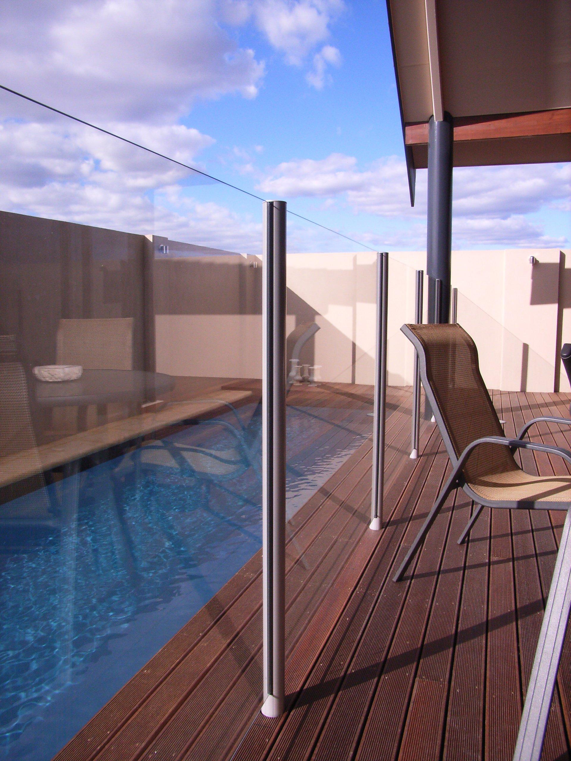 Alfresco Pool Fencing - Glass or MODULAR