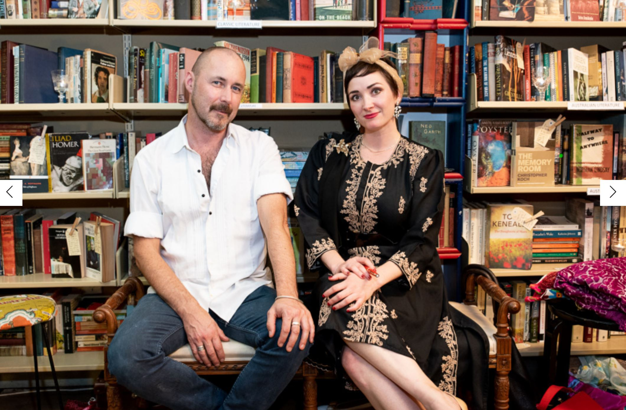 """Broadsheet  says:    """"The Vintage Store Bringing Magic to Kings Cross After Dark     Grand Days, a treasure-trove of books and clothes on William Street, has launched a series of after-hours events celebrating music, fashion and film. In partnership with City of Sydney, we step into their colourful, nostalgic world.""""   To read the full article click   HERE"""
