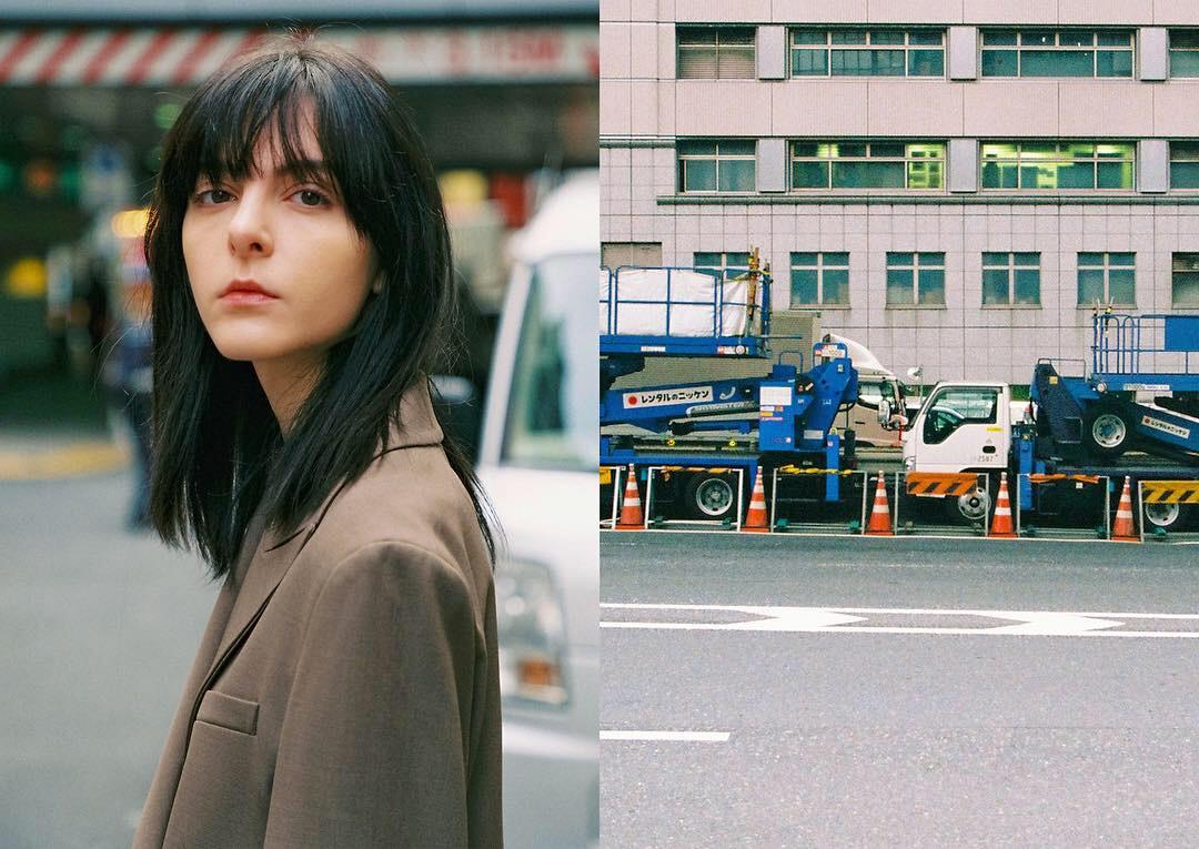 Model: Lina Rebollo Photo: Kim Haru Stylist: Kim Hyejin HMUA: Reiko Fujiwara