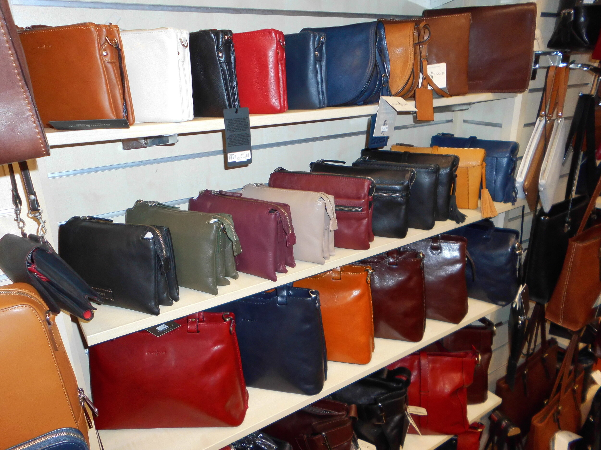 Handbags & Small Leather goods — Bow Fashion Accessories