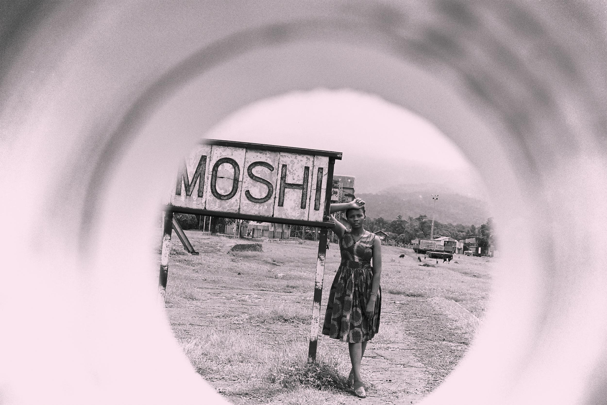 Introducing round Photography - Train Waiting - A Tanzanian editorial in Moshi.