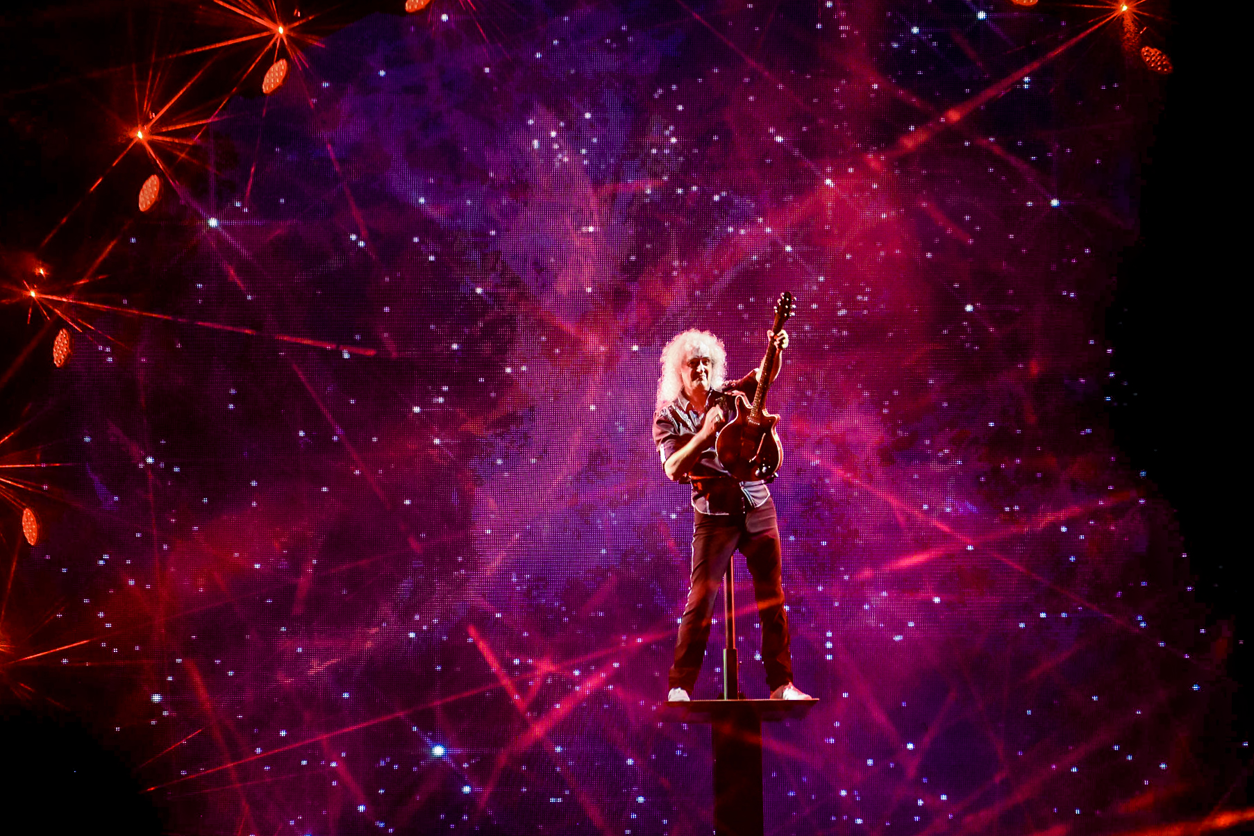 Brian May (Queen) /Singapore