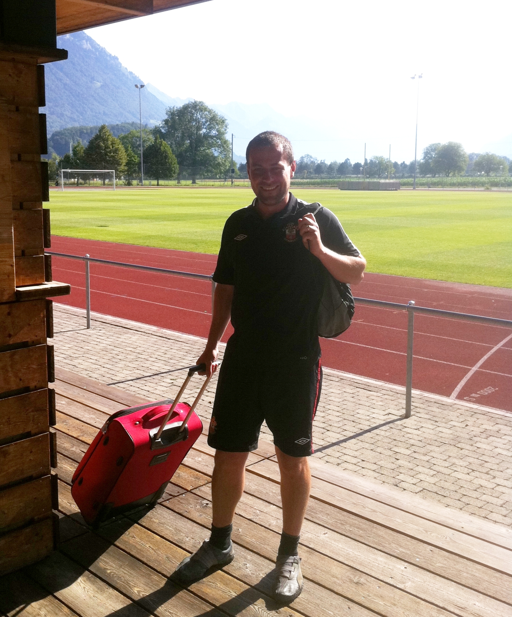 Job well done Andy. Now back to Southampton to make sure the training pitches are ready for when we return from the Tour of Interlaken in Switzerland.
