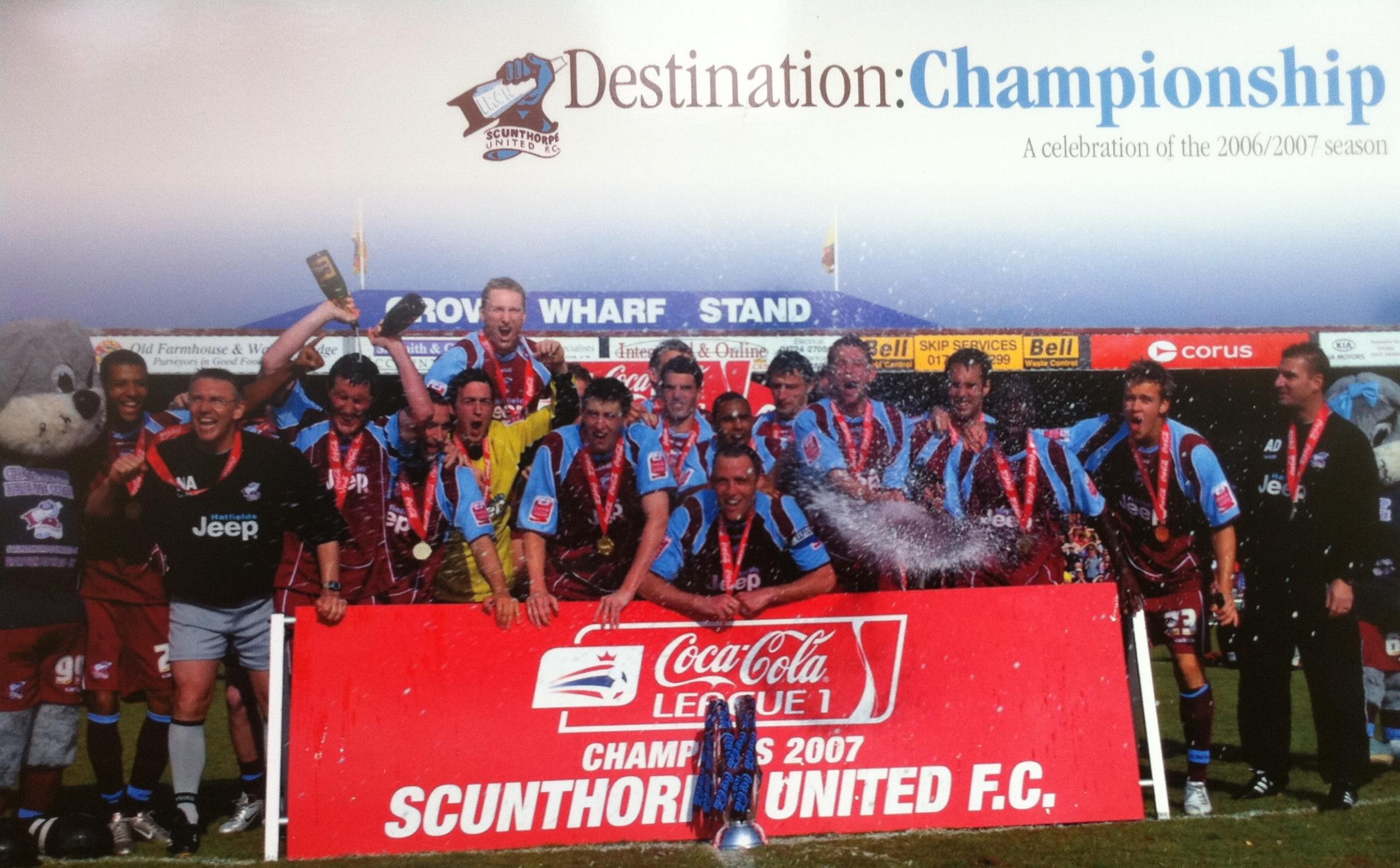 Scunthorpe United League 1 Champions 2007