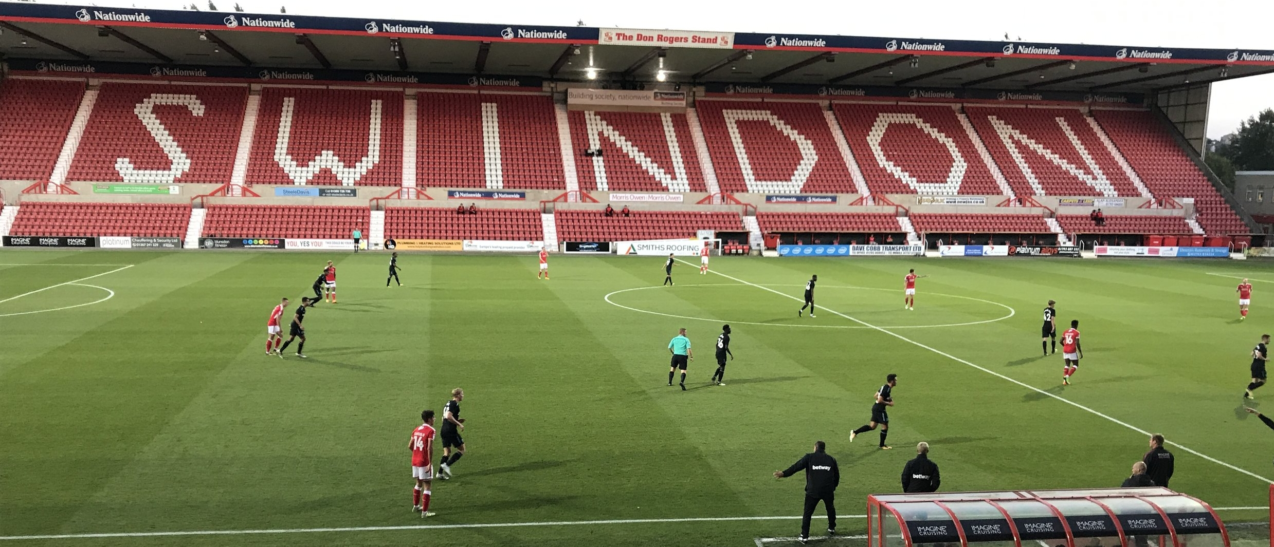 Swindon Town entertain Premier League West Ham United U21 side in the Checkatrade Trophy.