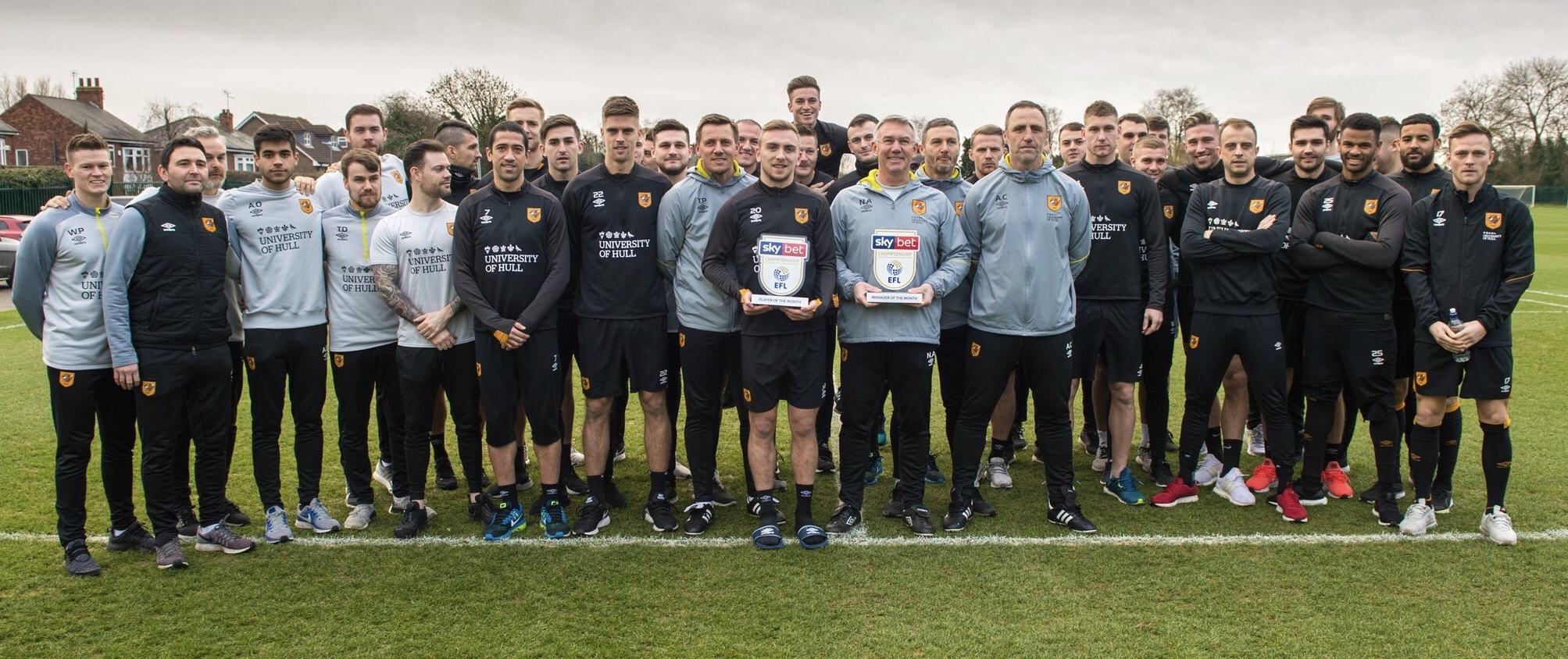 TEAM - Together Everyone Achieves More  Championship Manager of the Month December 2018