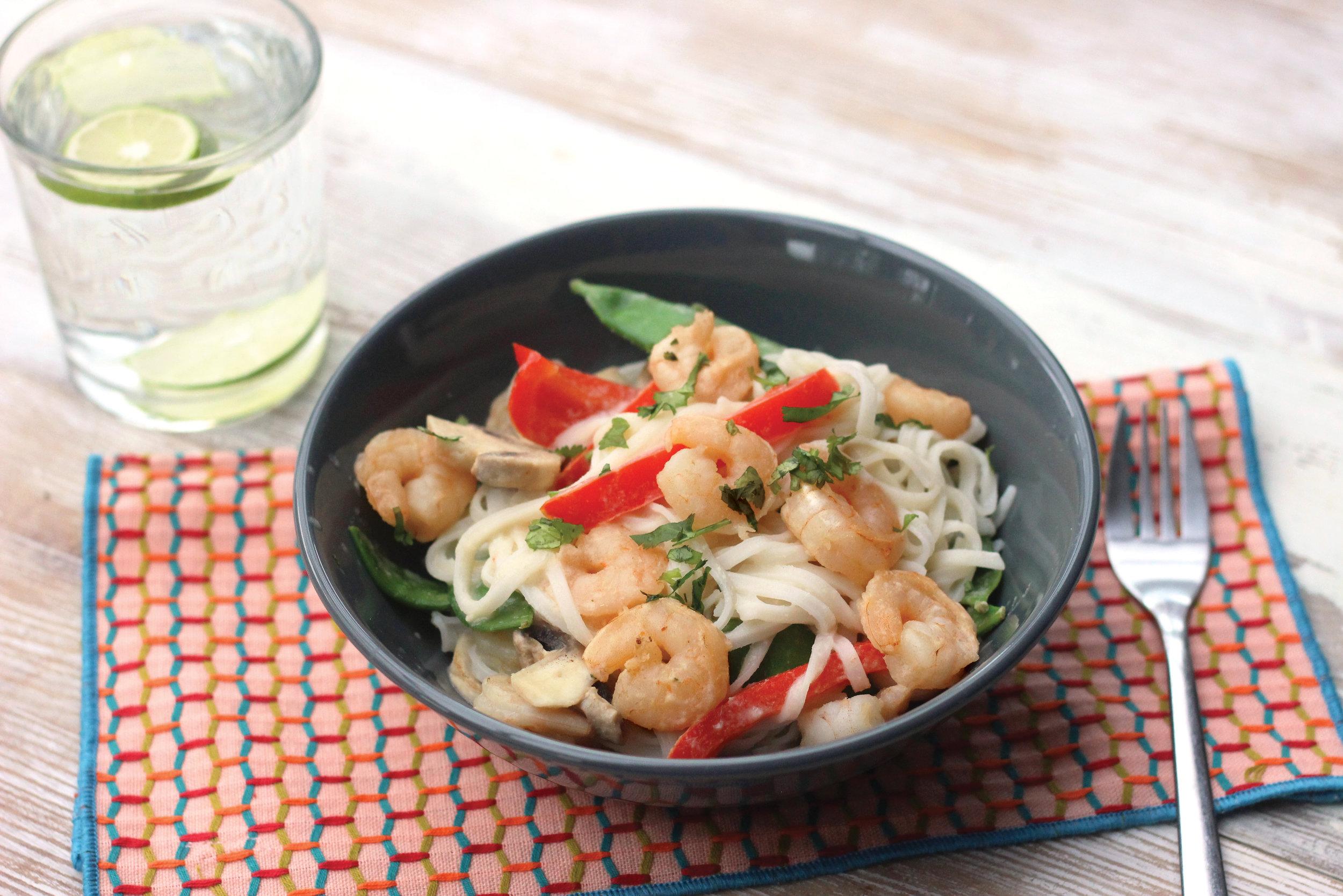Creamy prawn, coconut & lemongrass stir fry.JPG