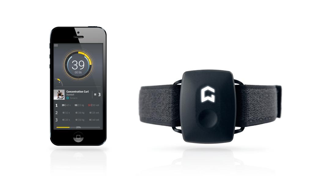 Dein Training aufzeichnen lassen: Fitness-App + GymWatch Sensor!