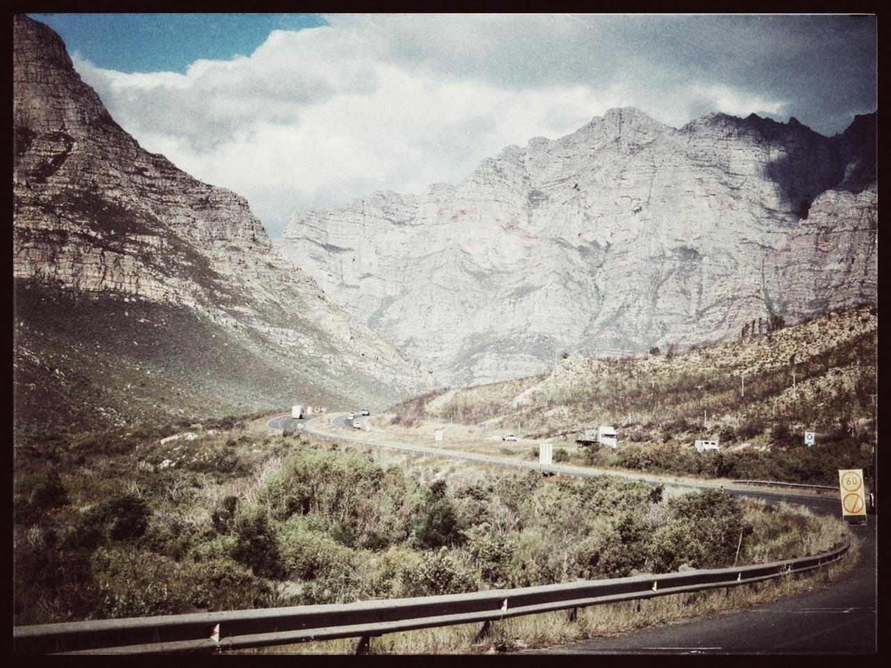 Onderweg van Robertson naar Oudtshoorn