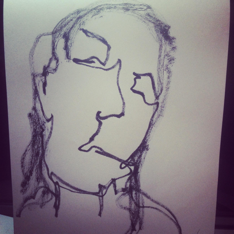 Mica drawing Javiera