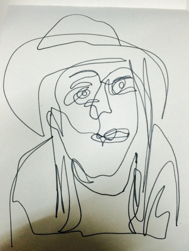Umin drawing Angela