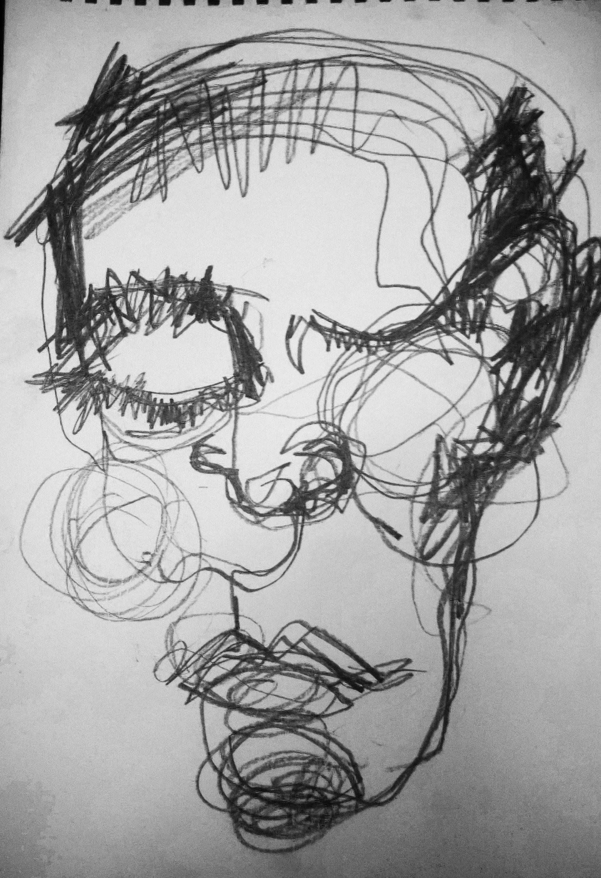 Daria drawing Riza