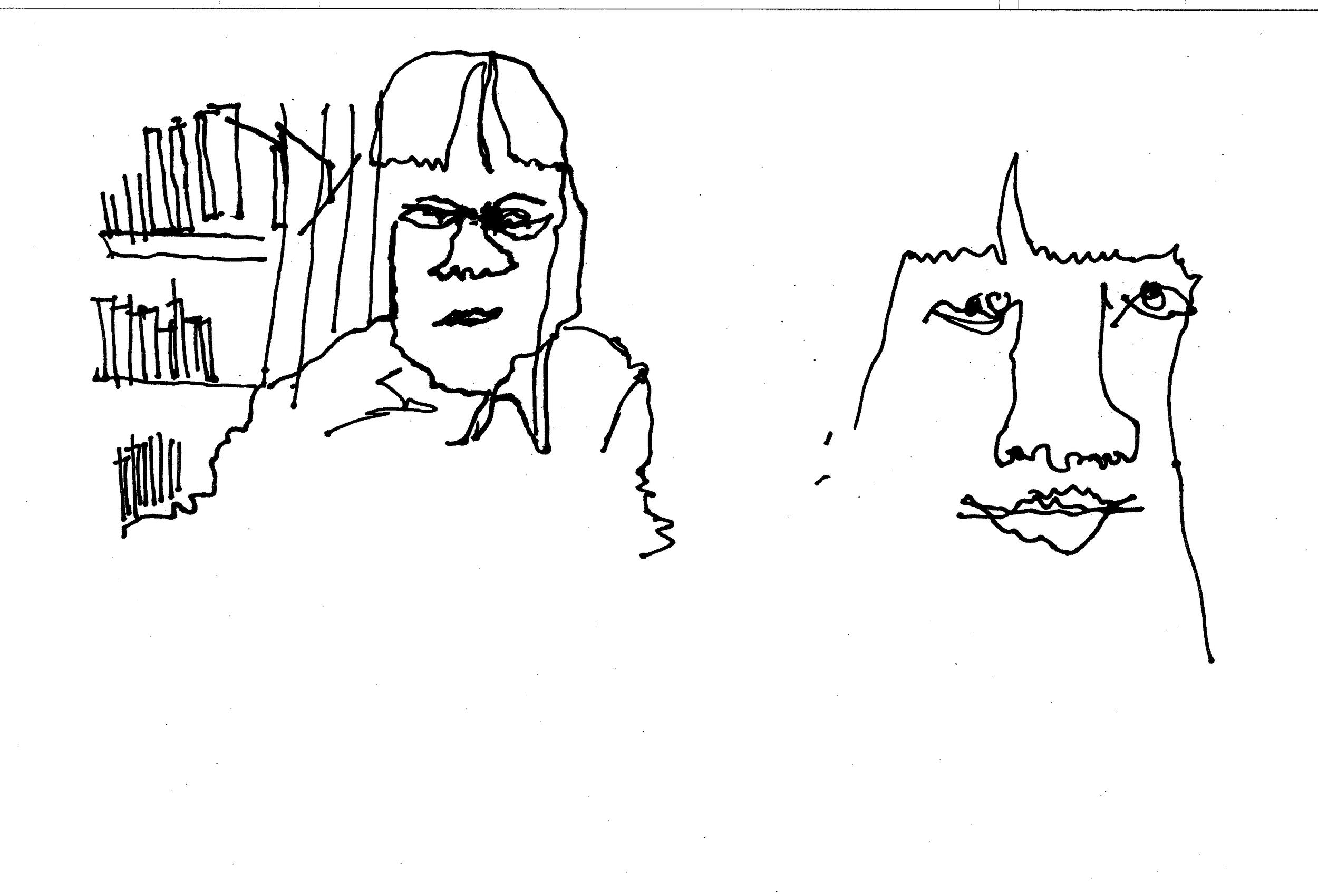 Grace drawing Uyen