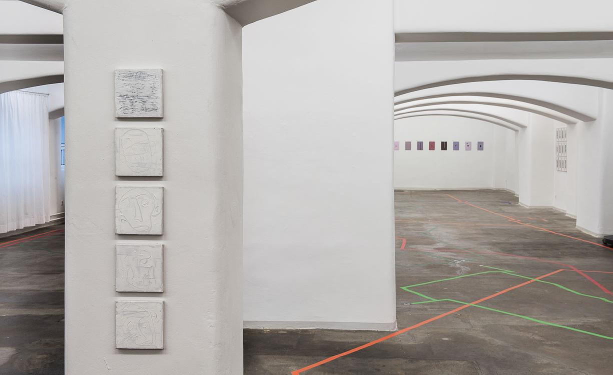 Exhibition view Feb. 2016,  Staedtische Galerie, Reutlingen , Germany. Photo: Karl Scheuring, Reutlingen