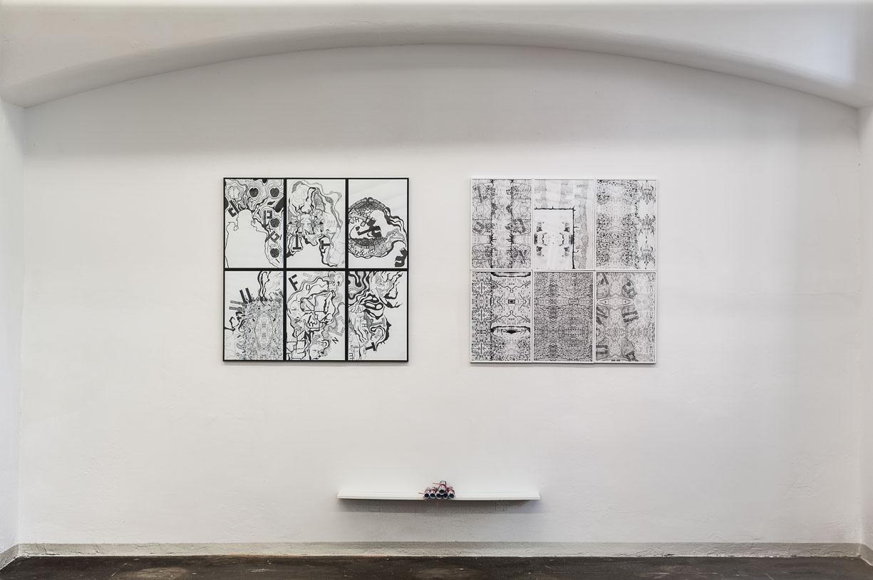Maggie McCormick, MEL-LINGEN and MEL-SHANG-LINGEN, 2015, Städtische Galerie Reutlingen, 2016, Photo: Karl Scheuring, Reutlingen