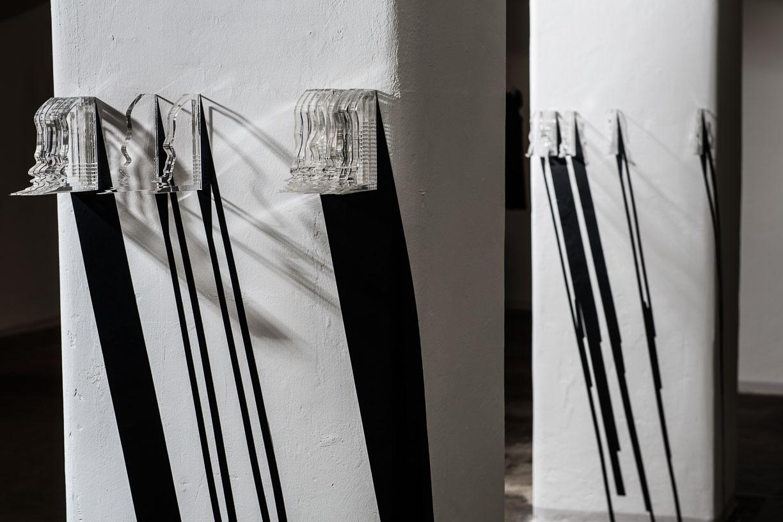Grace Leone, SKYPE SOUNDSSCAPE, 2016Städtische Galerie Reutlingen, 2016, Photo: Karl Scheuring, Reutlingen