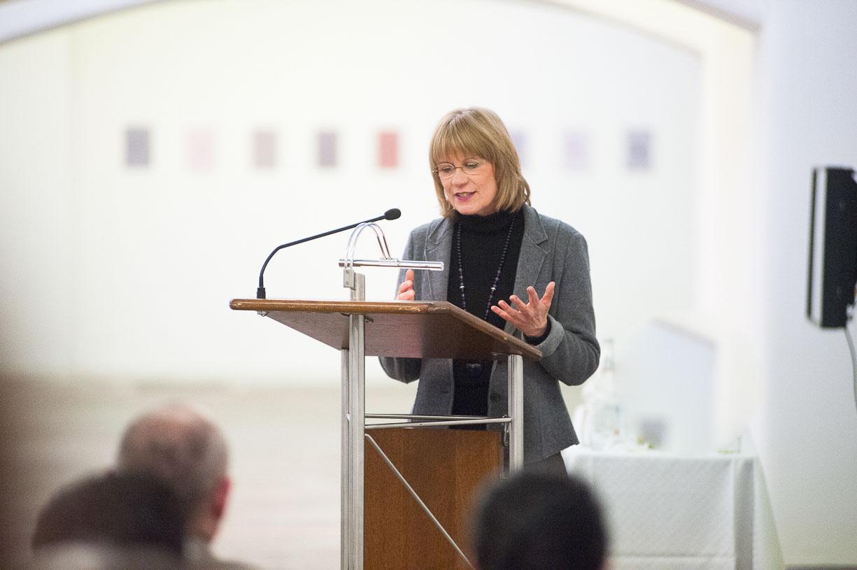 At the opening, Städtische Galerie Reutlingen, 2016.