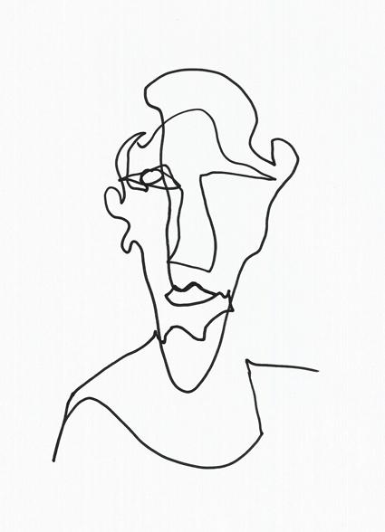 Yesim drawing Handerson, Reutlingen-Rio, 2016