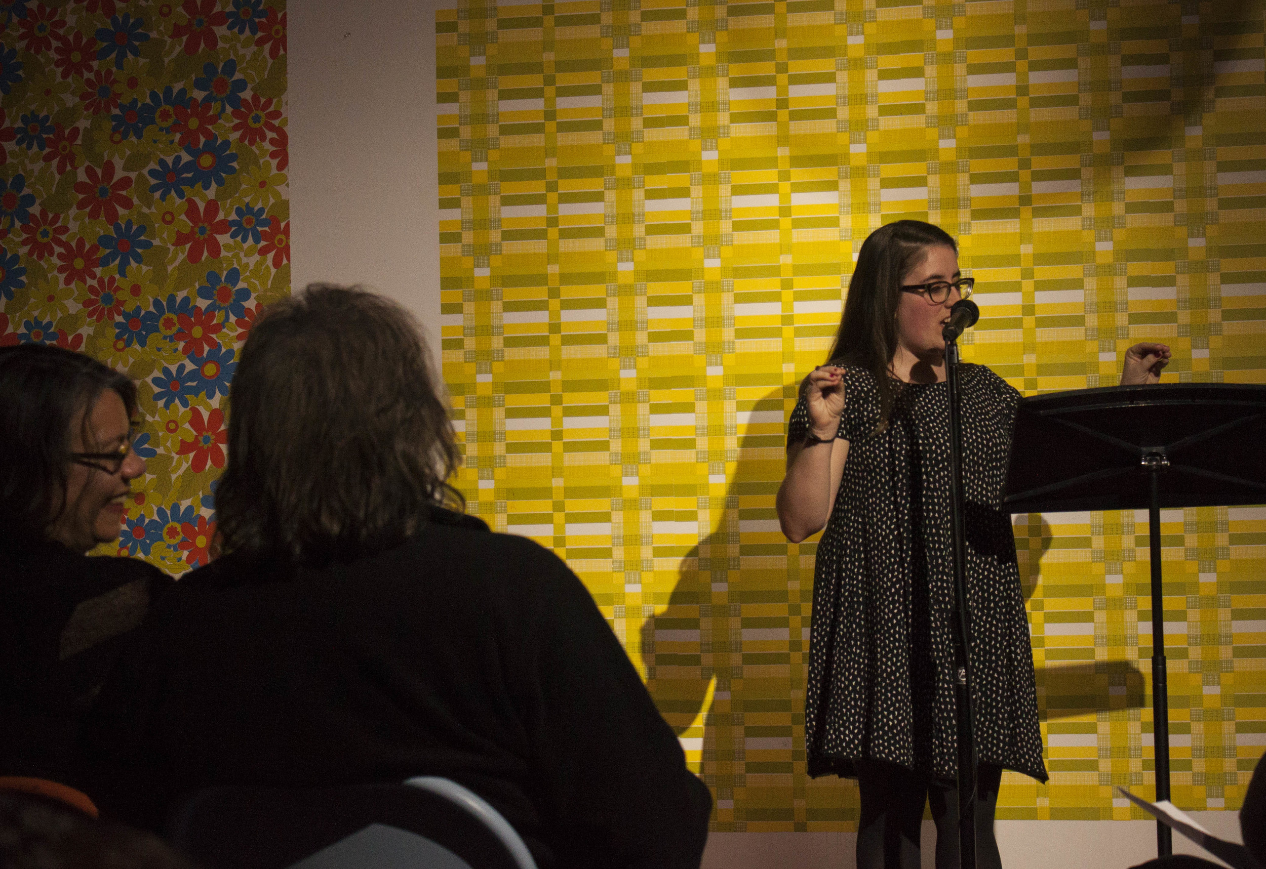 Christine Davenport performs at 2015 Memphis Monologues at Amurica Photo.