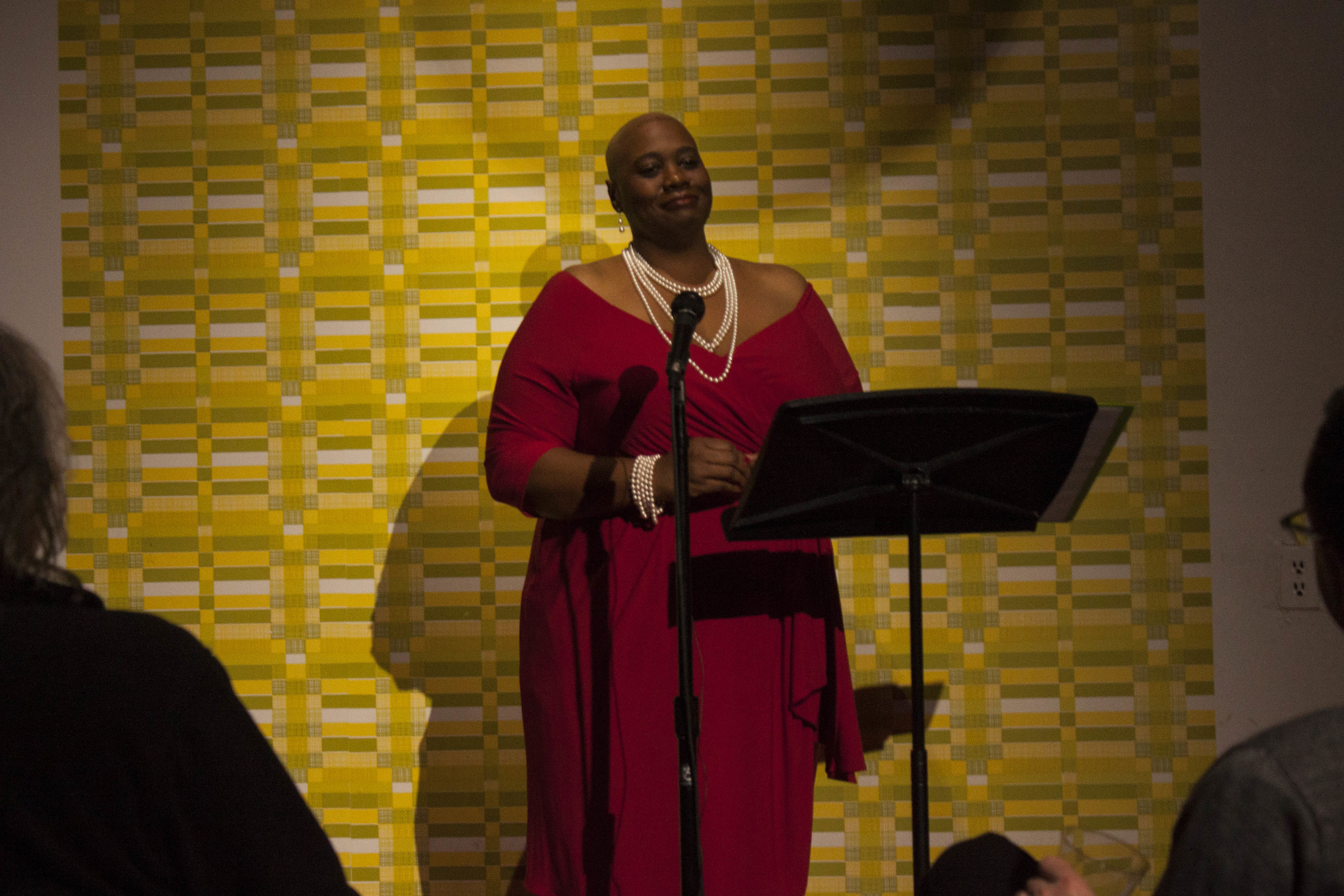 Adriane Williams performs at Memphis Monologues (February 7, 2015)