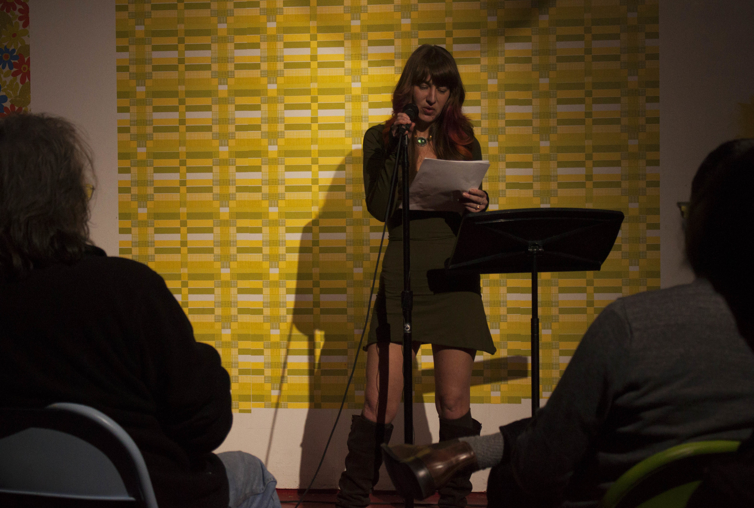 Chloe Evans O'Hearn presents her monologue at Memphis Monologues (February 7, 2015)