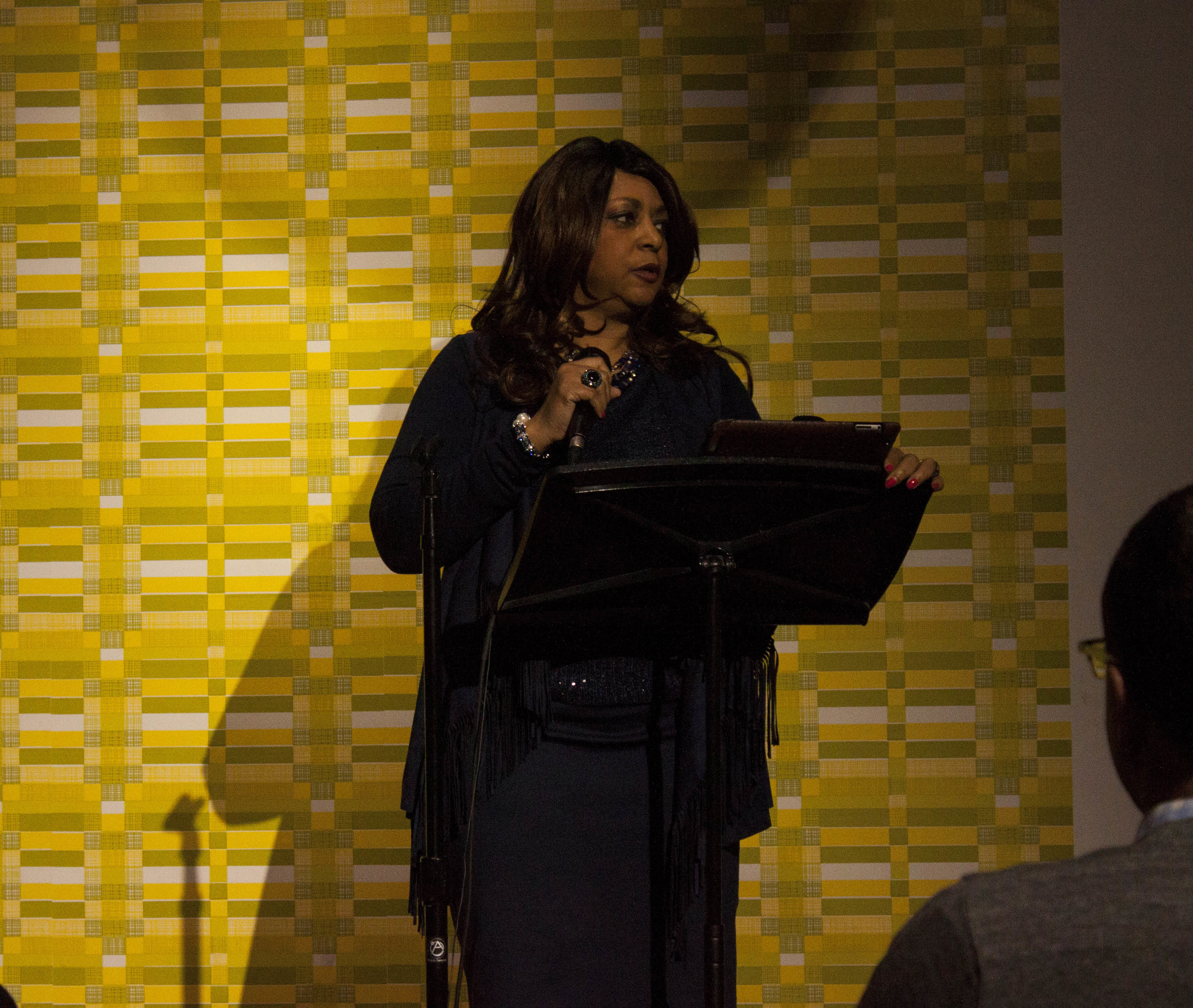 Gale Jones Carson at Memphis Monologues (February 7, 2015)