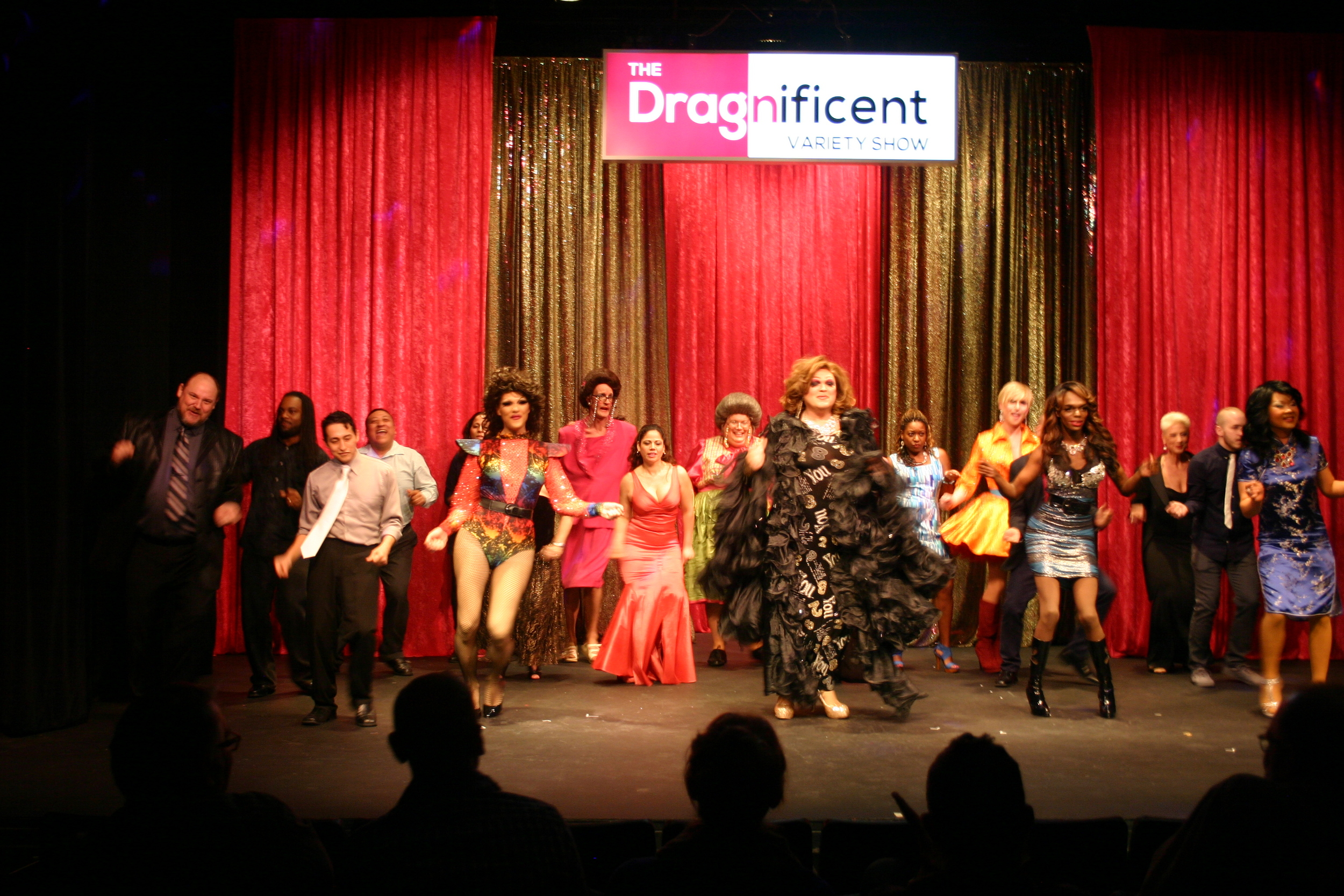 Cast of DragNificent Variety Show  ( March 12, 2015)