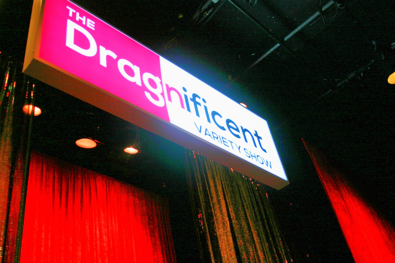 DragNificent Variety Show Opening Weekend ( March 12, 2015)