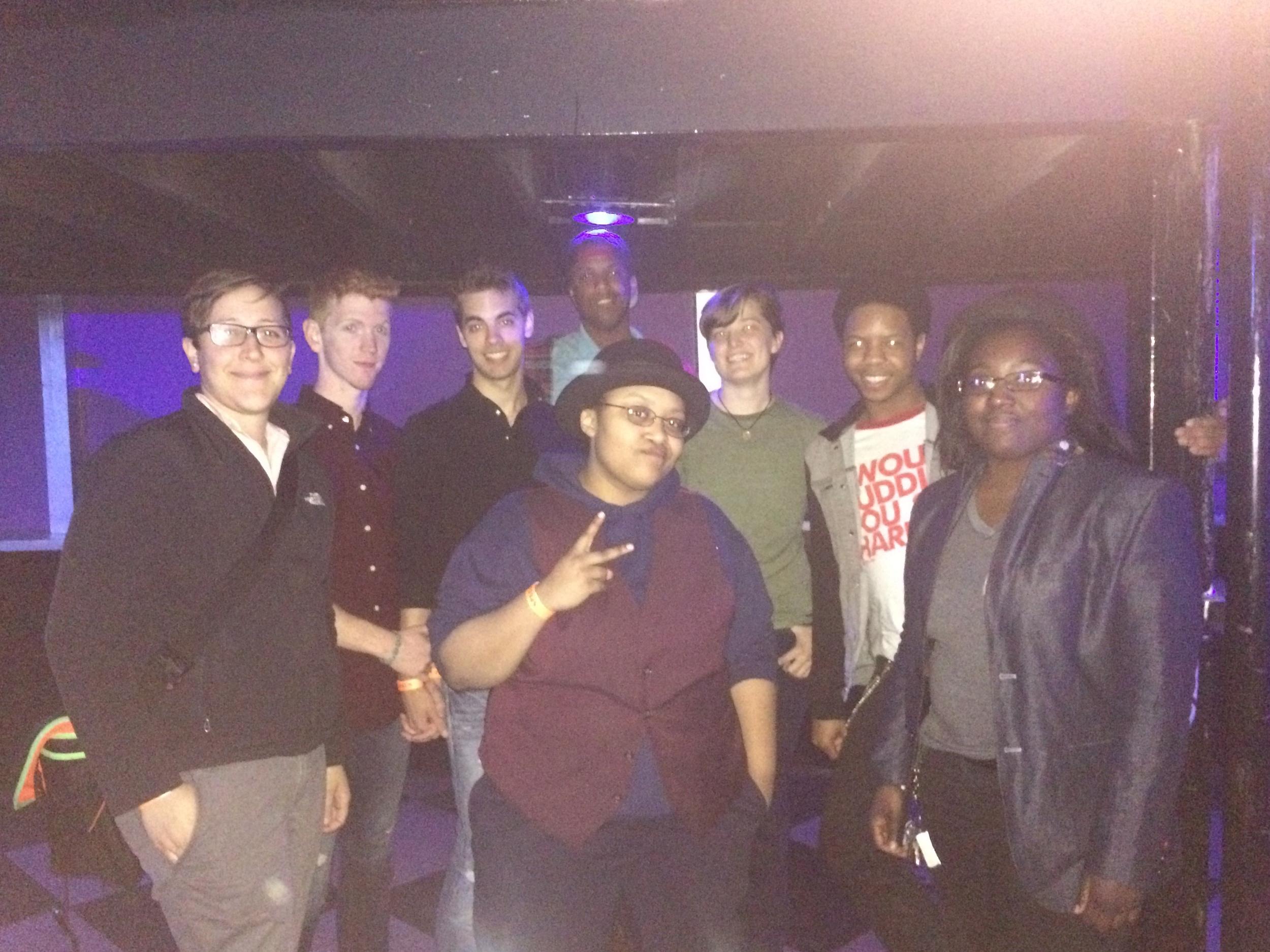 Members of Memphis Gay & Lesbian Community Center PRYSM Group
