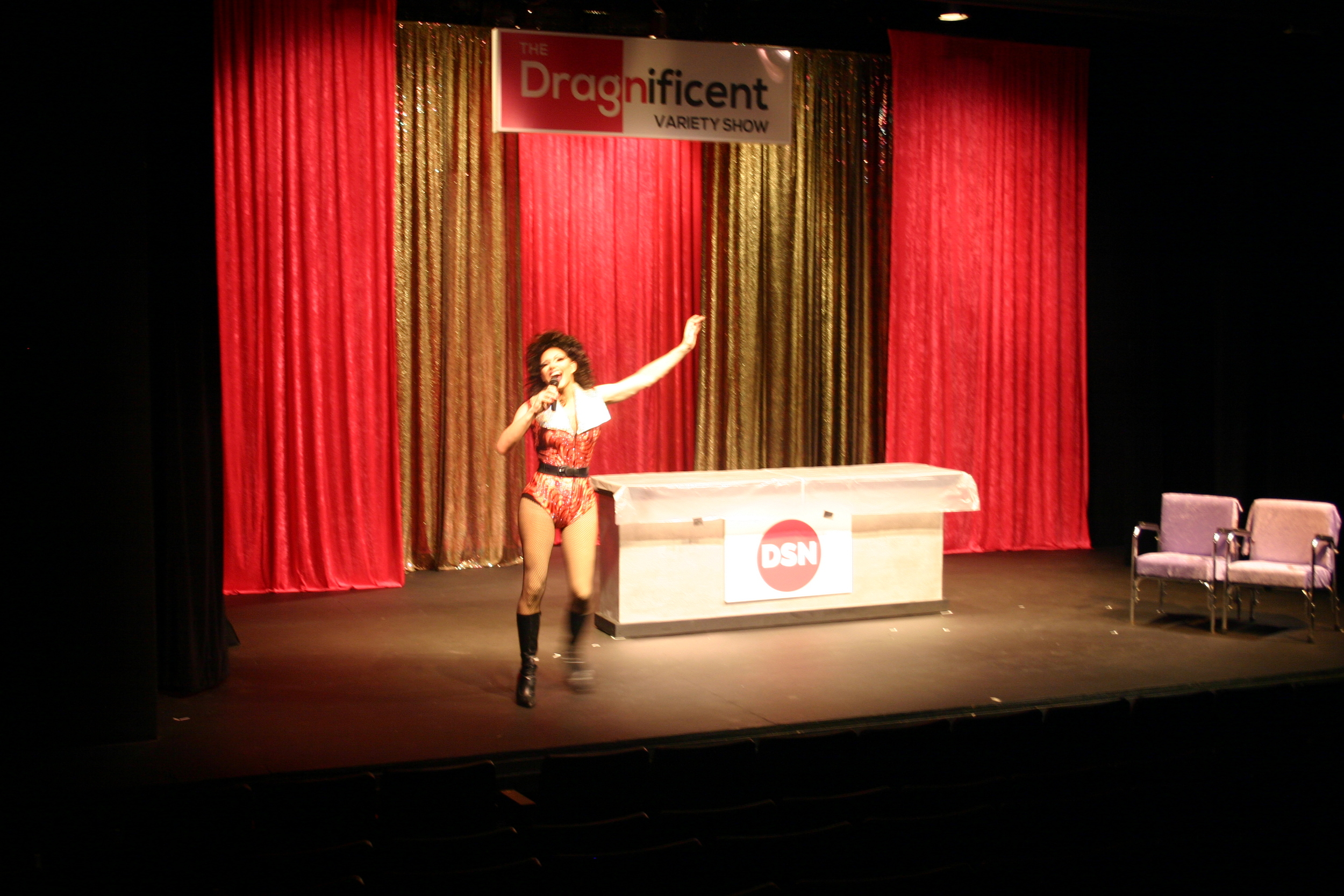 Vocal Warmup for Bella DuBalle at DragNificent Variety Show 2015    Copyright 2015 Out901.com. All rights reserved. This material may not be published, broadcast, rewritten, or redistributed.    Picture by Whitney Hardy