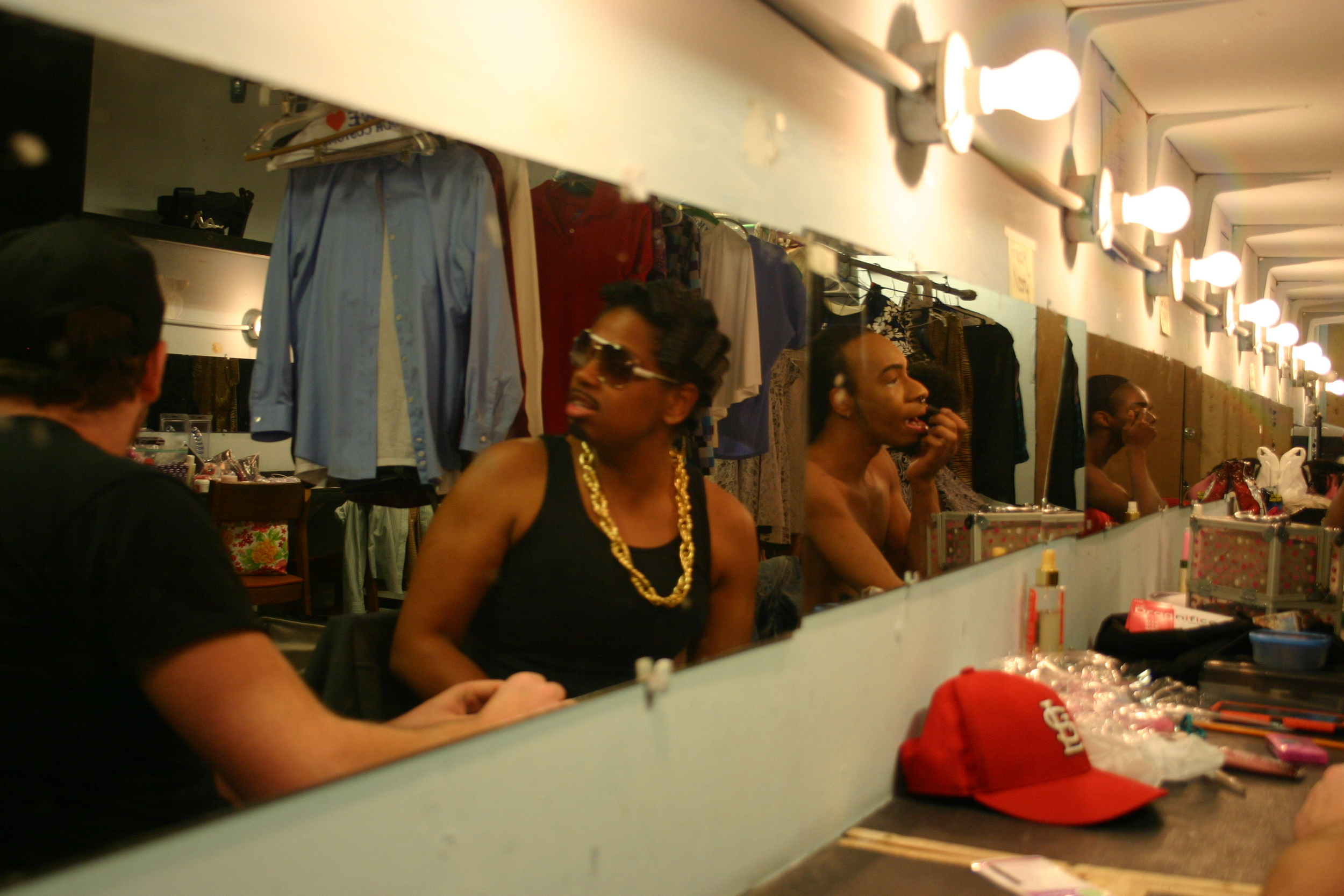 Freak Nasty getting ready for her Uptown Funk Performance    Copyright 2015 Out901.com. All rights reserved. This material may not be published, broadcast, rewritten, or redistributed.    Picture by Whitney Hardy