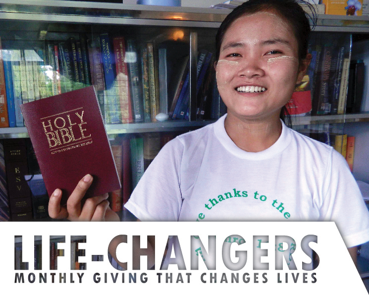 Helping to facilitate spiritual life-change in others through teaching the Bible, sharing the Gospel and serving those in need is how Encounter helps to fulfill the Great Commission in today's world. If you'd like help Encounter financially in this mission on a monthly basis, become a LIFE-CHANGER today!
