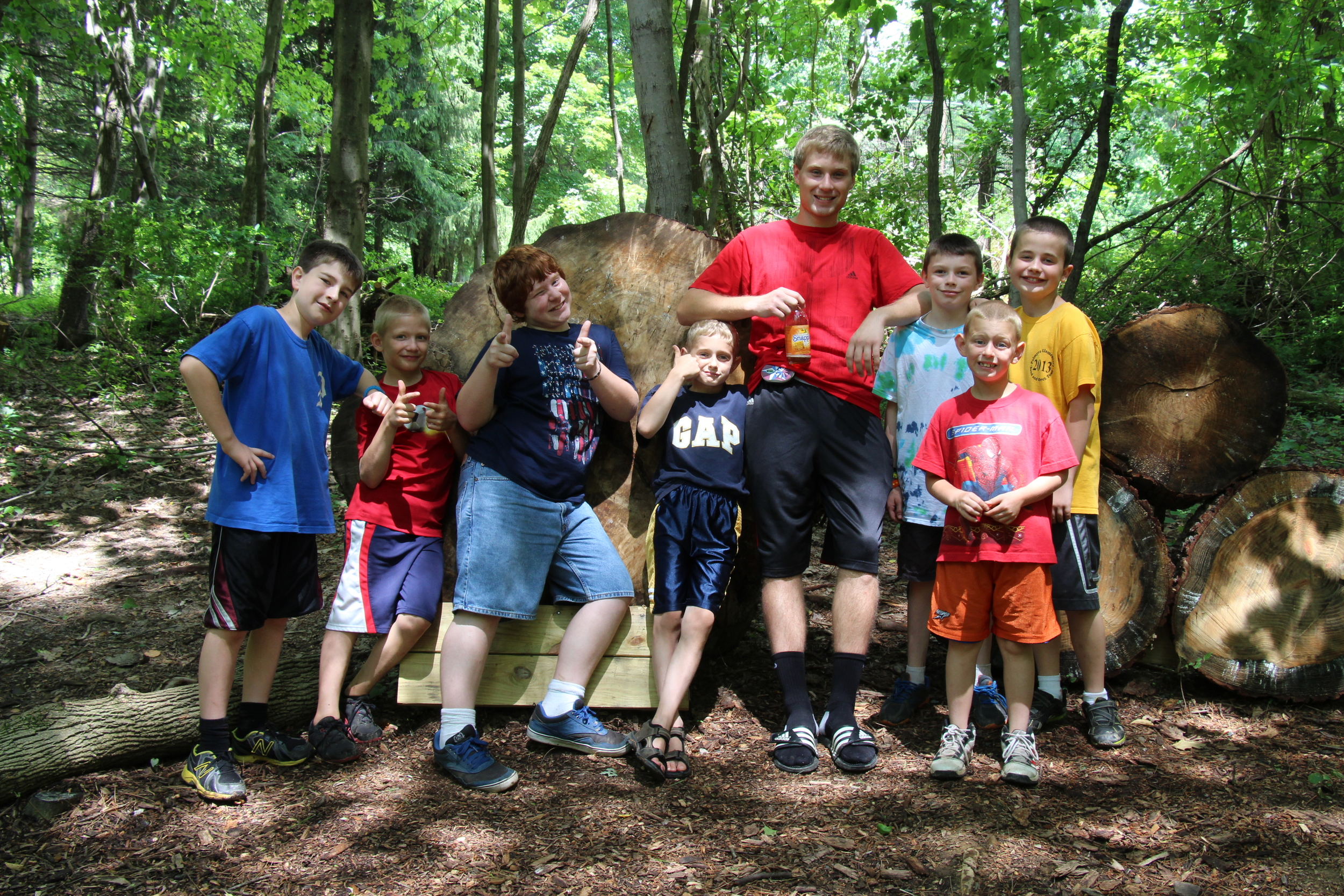 Mt. Lou San Bible Camp is only $290 for a week full of food, fun and learning!
