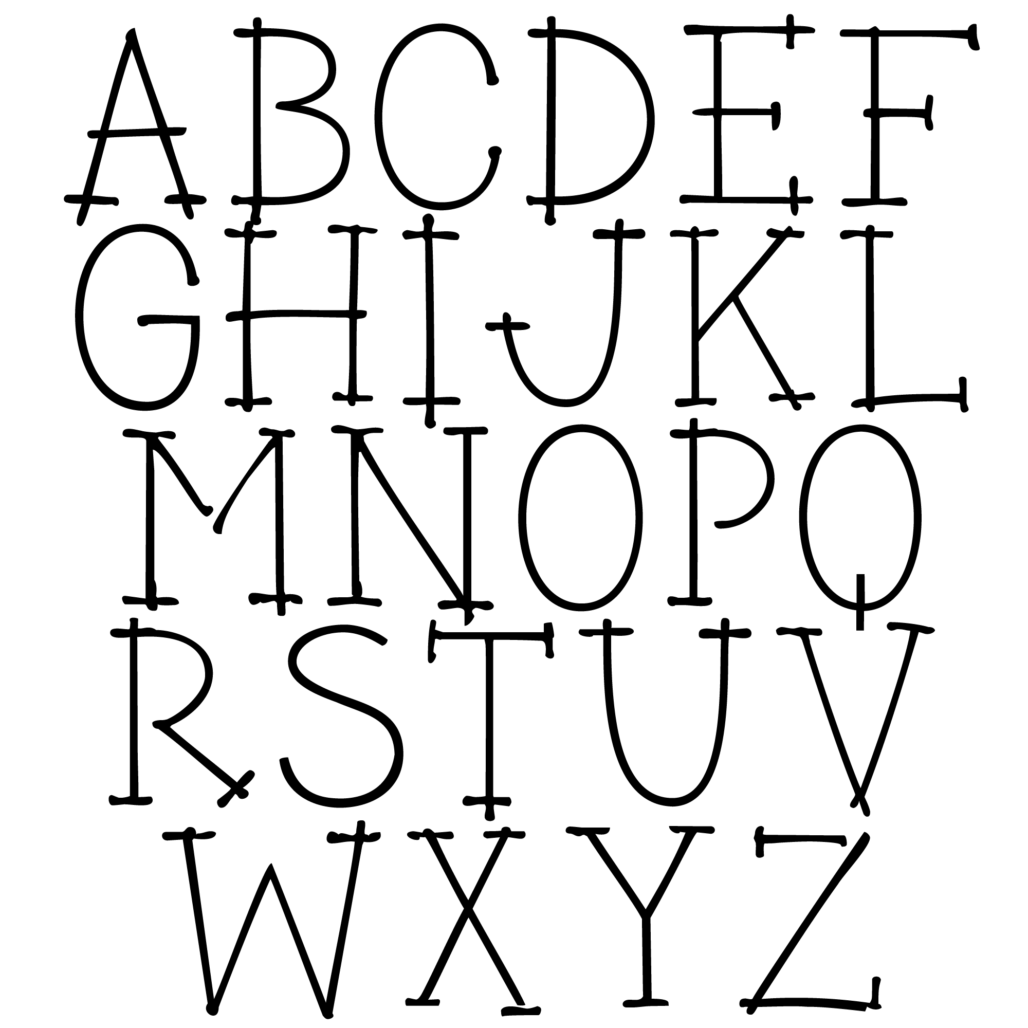 FREE font! www.outside-the-line.com