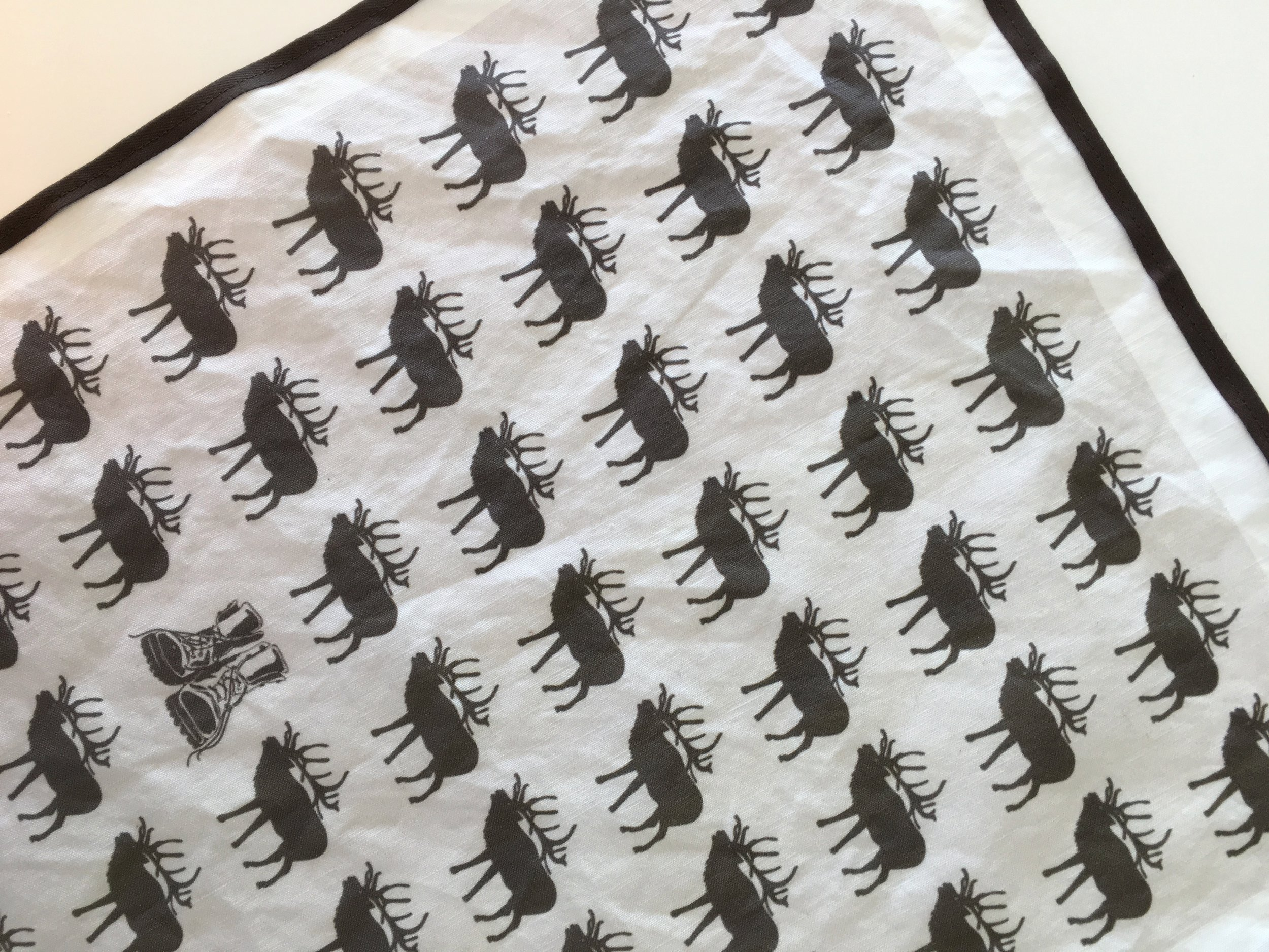 Spoonflower fabric - elk