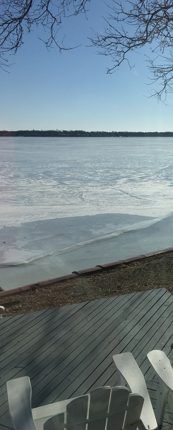 Ice Quake on Lake Monona