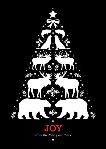 Wilderness Christmas on Minted