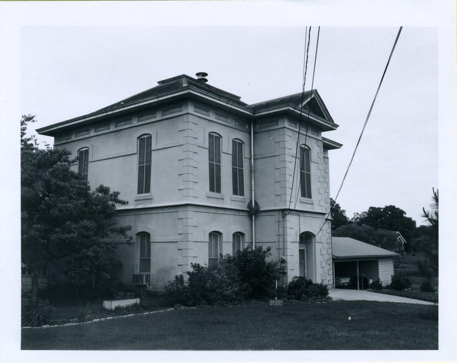 Lavaca County Jail, 1970