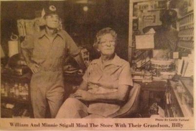 William & Minnie Stigall