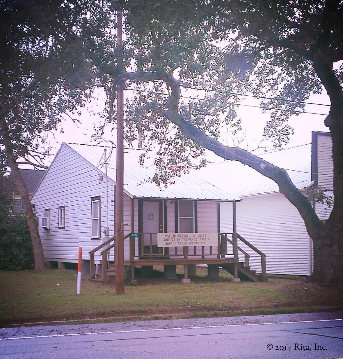Judge's Office, Burton, Texas