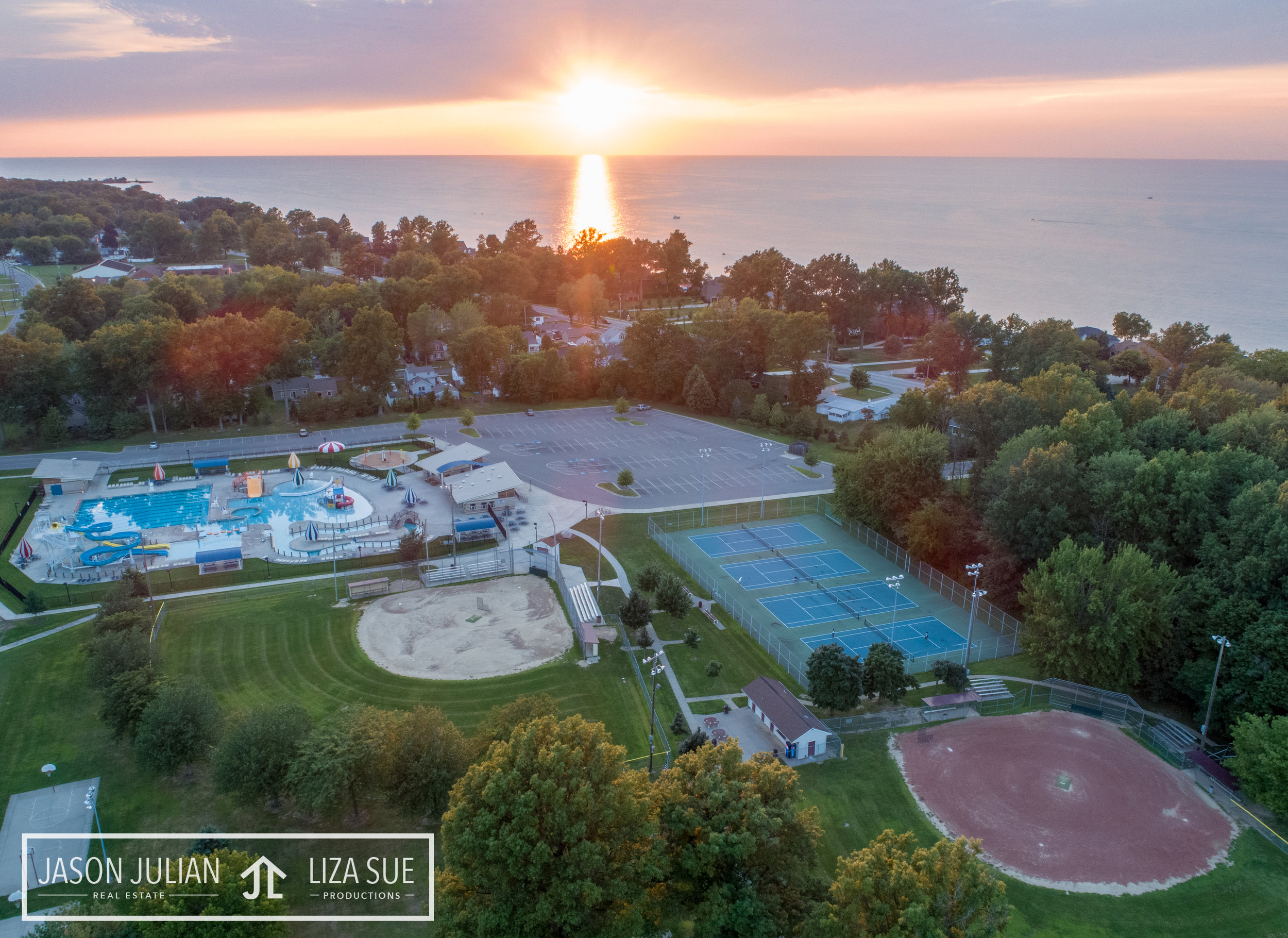 cleveland akron drone photography commercial corporate community
